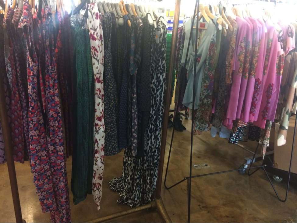 Also featured in the sample sale is a beautiful selection of ready-to-wear clothing from a multitude of great brands starting at $50 including Mata Traders bohemian dresses that will for sure come in handy this summer.