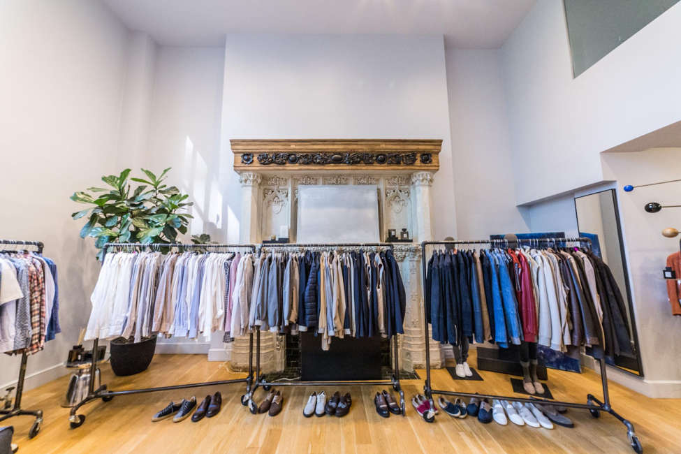 Eleventy sample sale menswear ny
