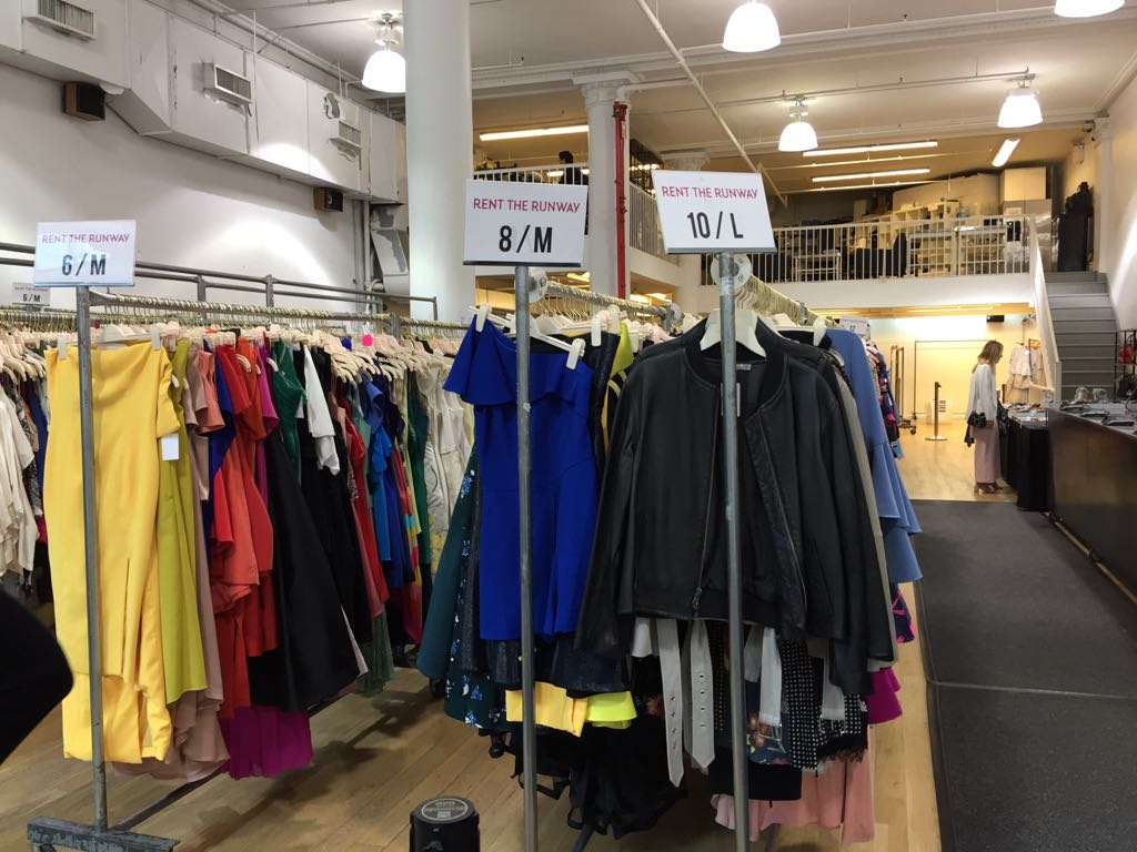 Inside the Rent The Runway Sample Sale – ShopDrop Blog