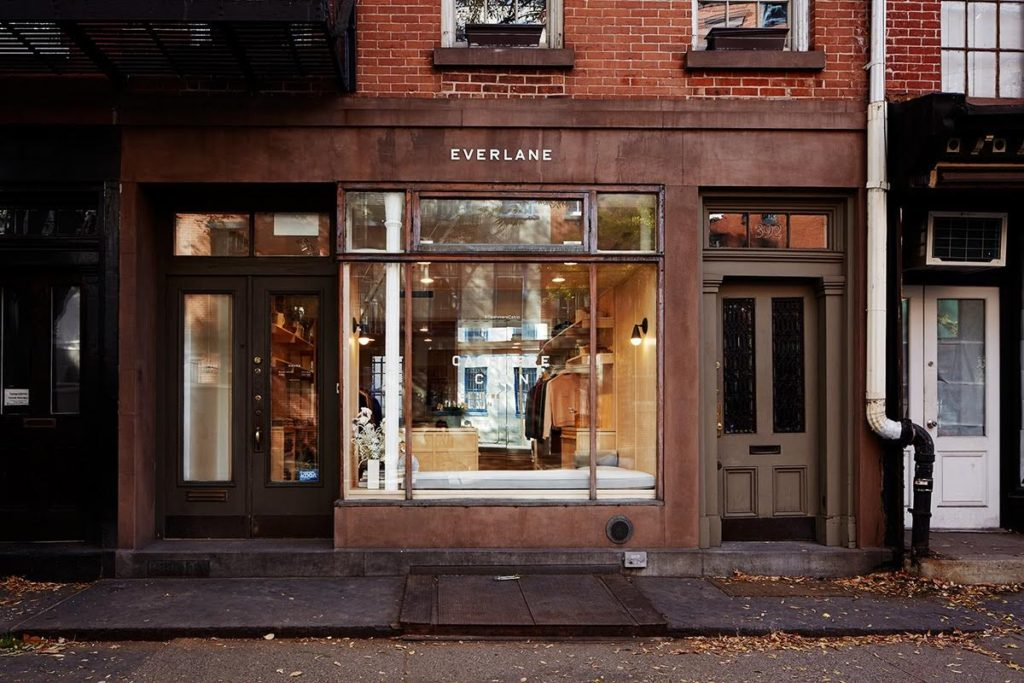 First Everlane Pop-Up through The Storefront pop ups and sample sales ny