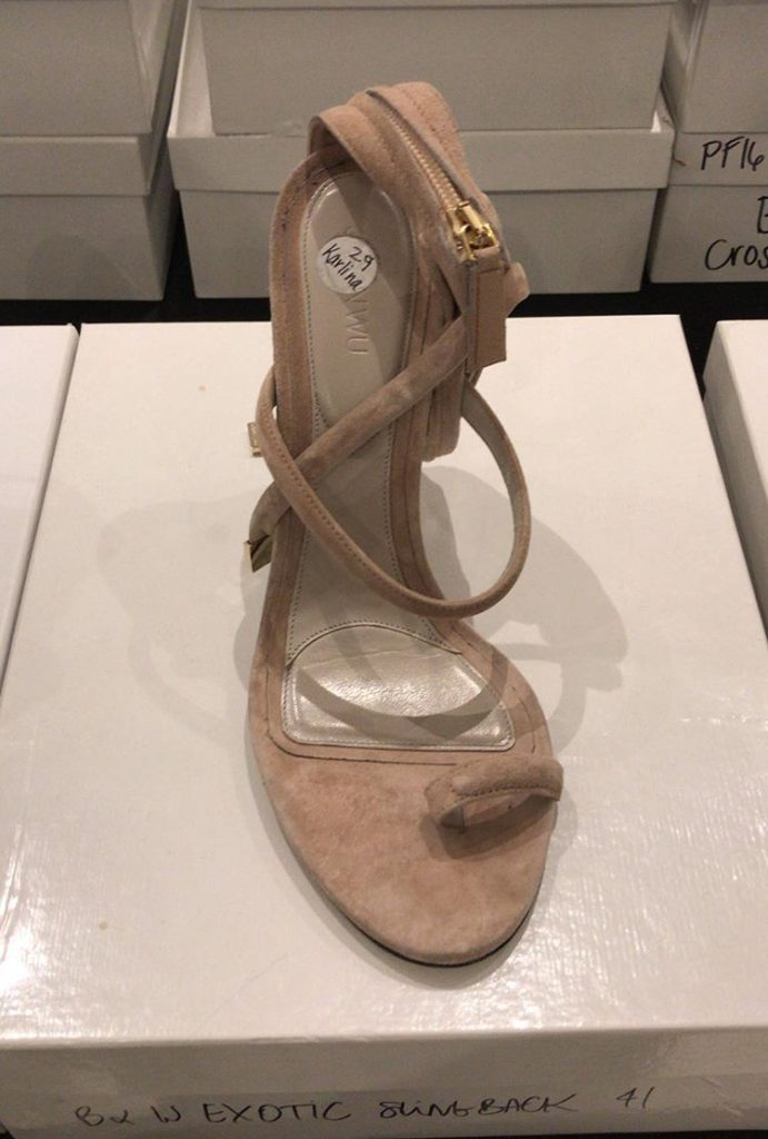 Jason Wu sample sale shoe