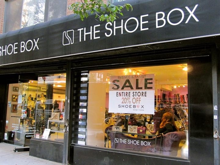 The Shoe Box Sample Sale NY