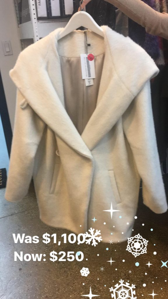 Heike Jarick Sample Sale coat