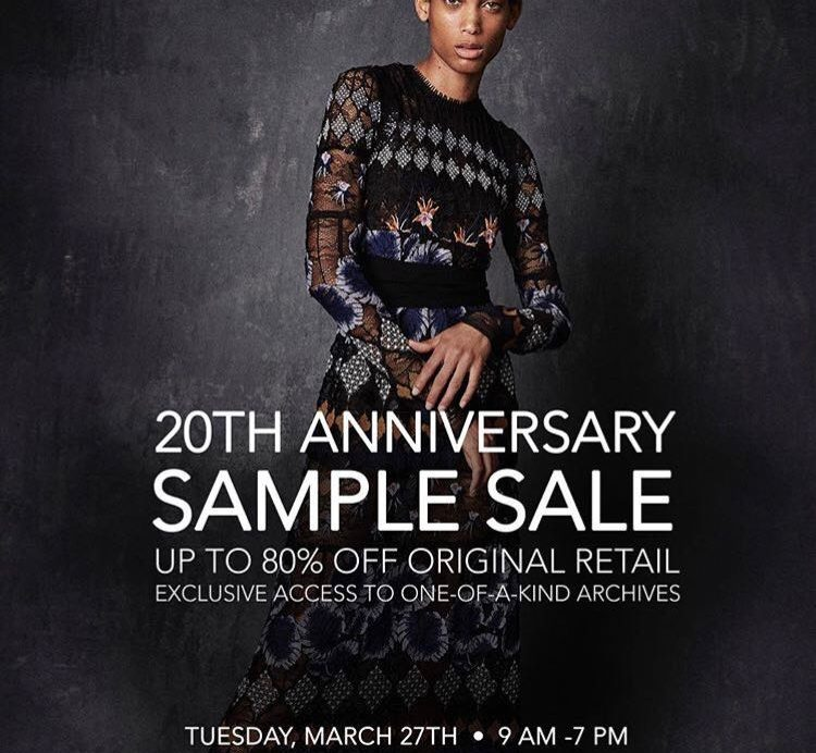 Yigal Azrouel sample sale