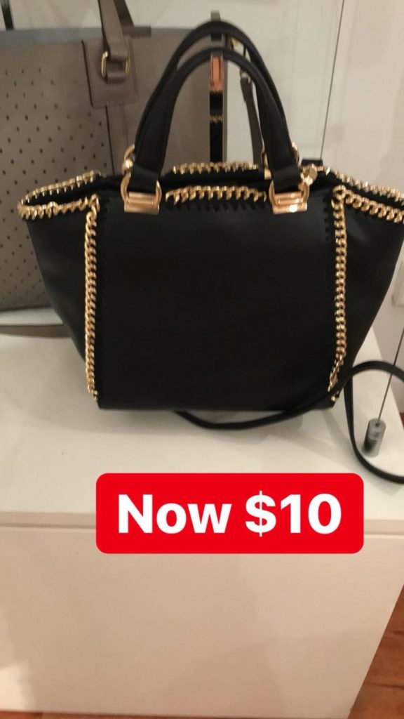 Vegan Handbag Sample Sale
