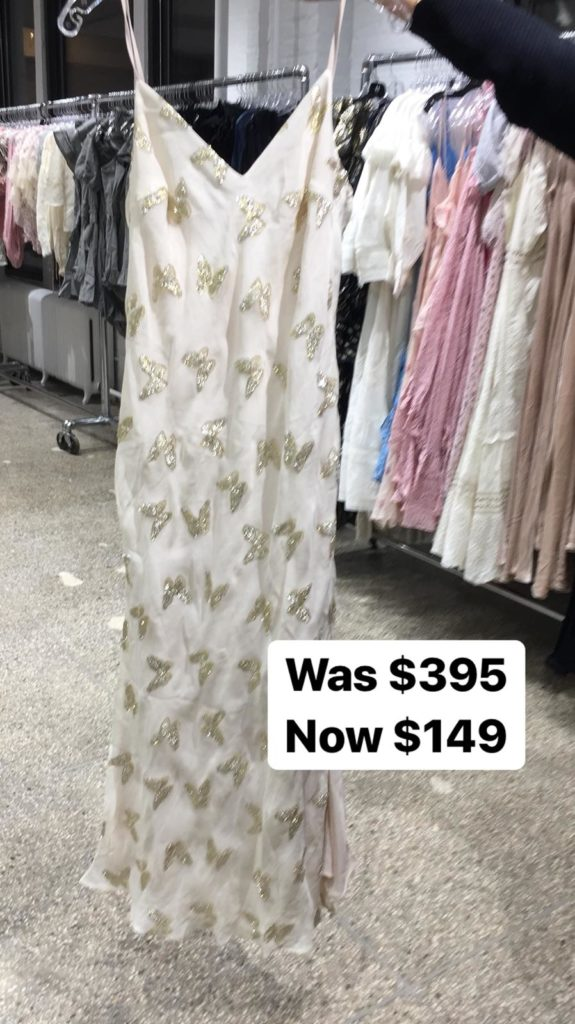 LoveShackFancy sample sale