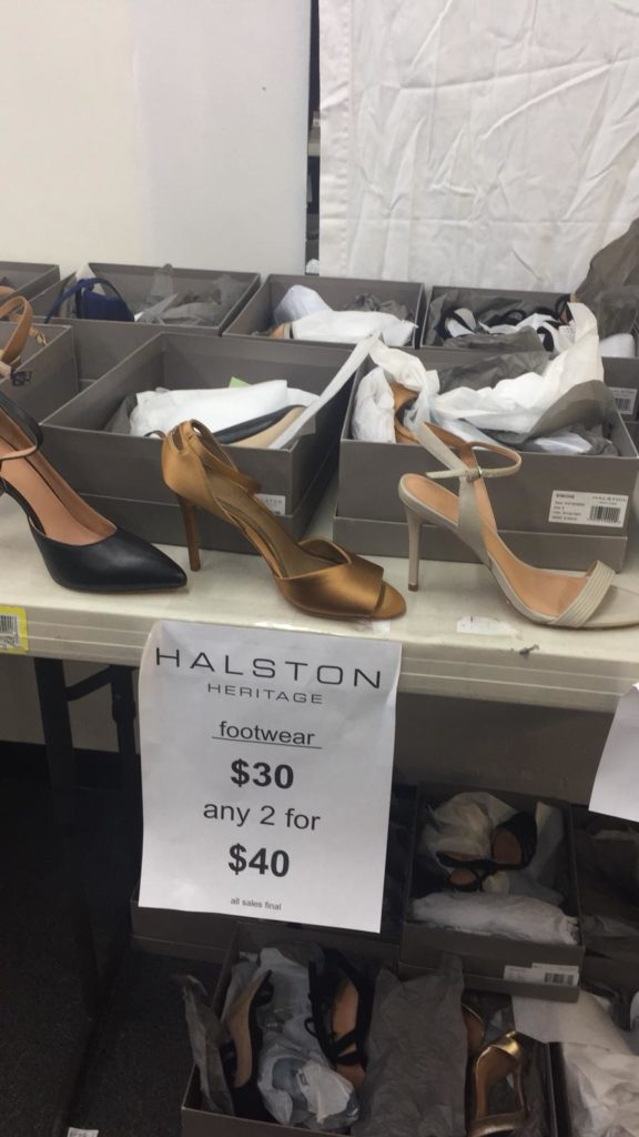 Halston Heritage Sample Sale