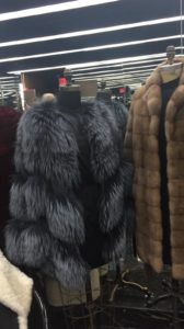 Fred Gelb Furs sample sale